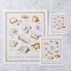 Cook's Illustrated Unframed Print: French Cheeses