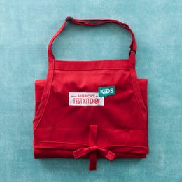 America's Test Kitchen Kids Embroidered Apron