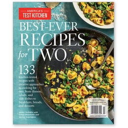 America's Test Kitchen Best-Ever Recipes for Two Special Issue