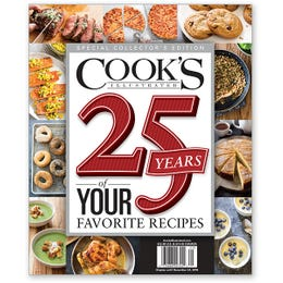 25 Years of Your Favorite Recipes Special Collector's Edition