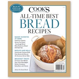 Cook's Illustrated All-Time Best Bread Recipes