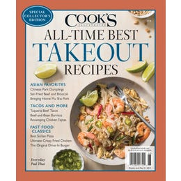 Cook's Illustrated All-Time Best Takeout Recipes