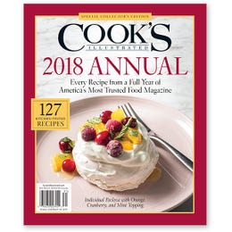 Cook's Illustrated 2018 Annual Issue