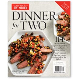 America's Test Kitchen Dinner for Two Special Collector's Edition