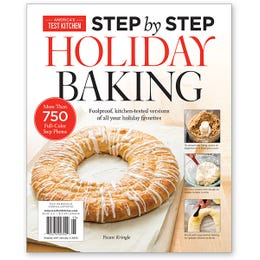 America's Test Kitchen Step-by-Step Holiday Baking Special Issue