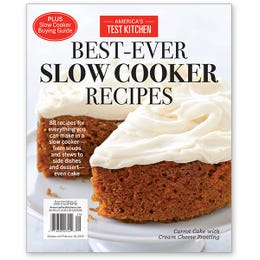 America's Test Kitchen Best-Ever Slow Cooker Recipes Special Issue