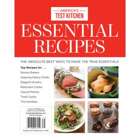 America's Test Kitchen Essential Recipes Bookazine