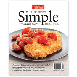 America's Test Kitchen Best Simple Recipes Special Issue