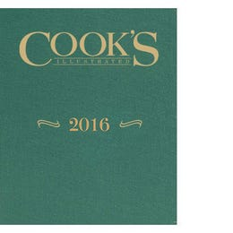 Cook's Illustrated 2016 Annual