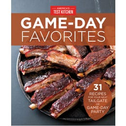 America's Test Kitchen Game-Day Favorites Special Digital Issue