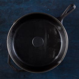 "Lodge 12"" Cast Iron Pan & Lid"