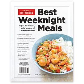 America's Test Kitchen Best Weeknight Meals 2015 Bookazine