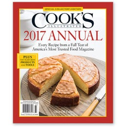 Cook's Illustrated 2017 Annual Special Collector's Edition