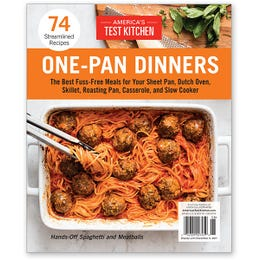 America's Test Kitchen One-Pan Dinners Special Issue