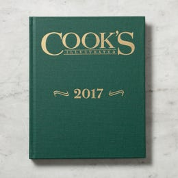 2017 Cook's Illustrated Annual