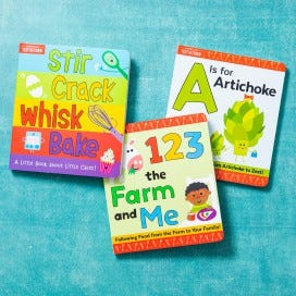 America's Test Kitchen Kids Board Book Bundle